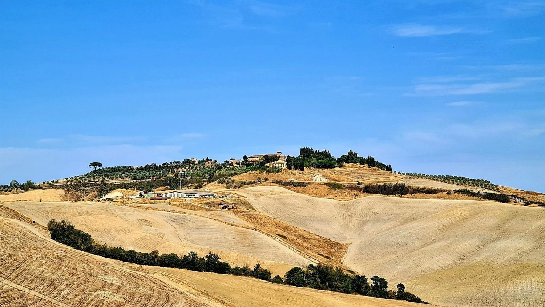 Itinerario di viaggio in Toscana Siena le Crete e la Via Vassia