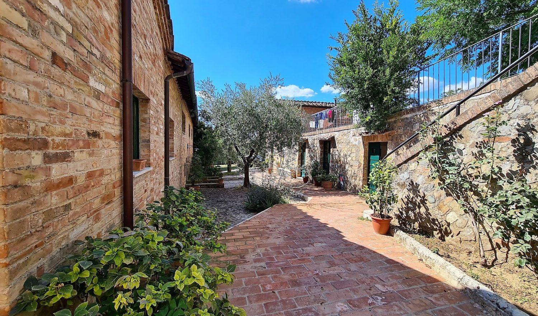 Soggiornare a Borgo Grondaie a Siena