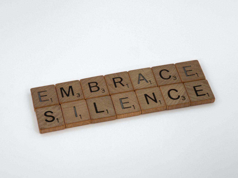 Silenzio come scelta