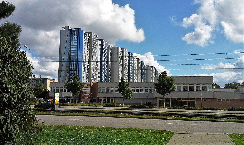 plattenbau di Rostock