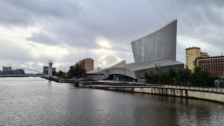 Dove si trova l'Imperial War Museum North a Manchester