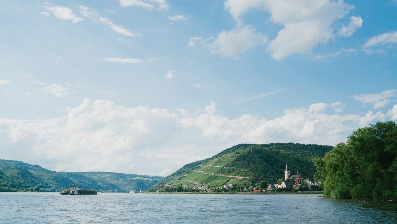 La valle del Reno in Germania